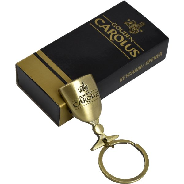 Bottle opener Gouden Carolus key ring