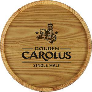 Muurbord Whiskyton Gouden Carolus Single Malt