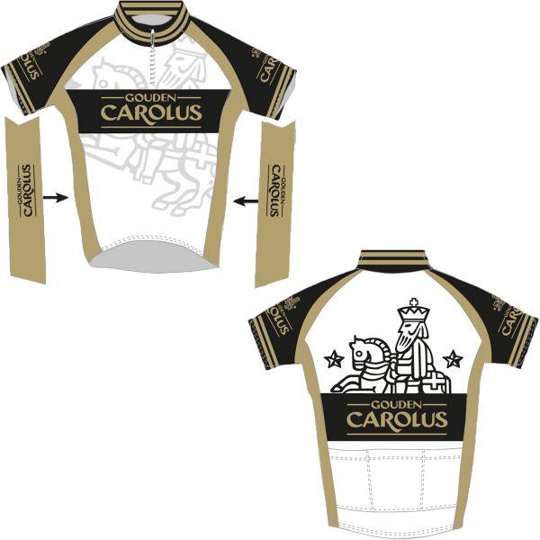 Wielertruitje Gouden Carolus met logo