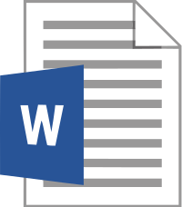 Word_docx icoon