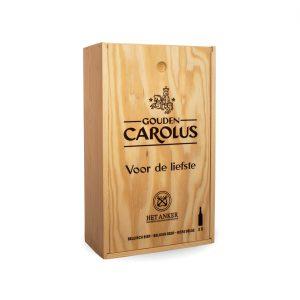 Gepersonaliseerde kist Gouden Carolus Classic + Tripel 2x75cl – Buitenzijde