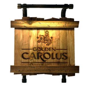 Gouden Carolus LED sign
